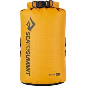 Sea to Summit Big River Sac de compression étanche 13L, yellow